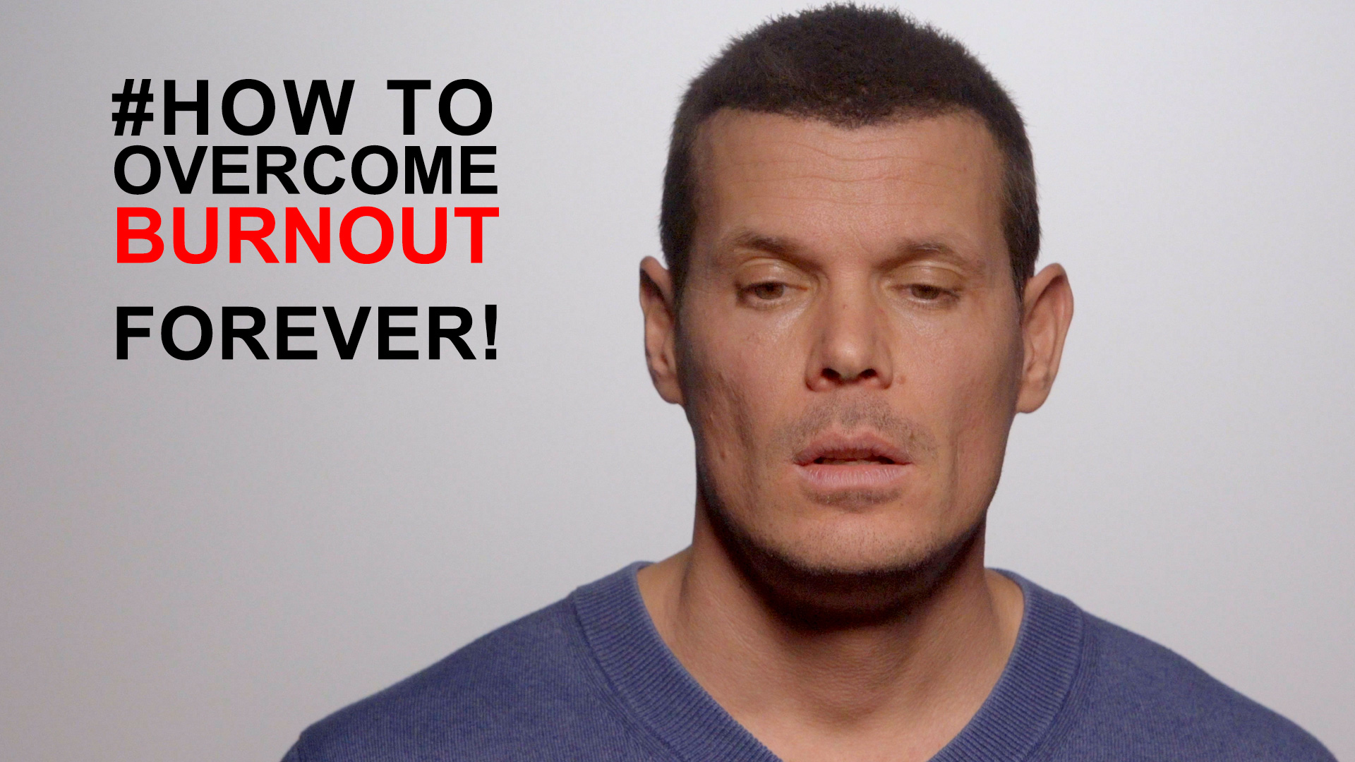 How to overcome a burnout FOREVER: #1 Tip to stop a burnout syndrome forever