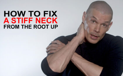 how to fix a stiff neck